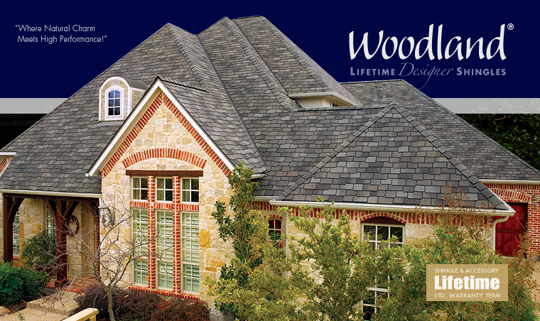 GAF Woodland® Shingles Brochure