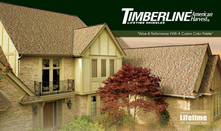 GAF Timberline American Harvest® Brochure